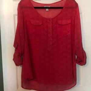 Old Navy polyester tunic